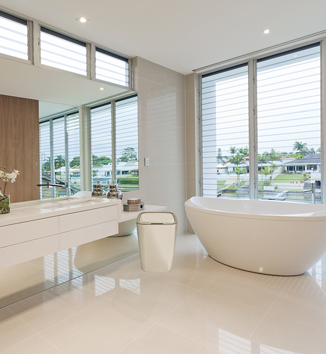 פחי אשפה לאמבטיה ושירותים